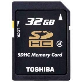 Toshiba SDHC 32GB Class 4 K32GR7W4