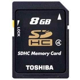 Toshiba SDHC 8GB Class 4 K08GR7W4
