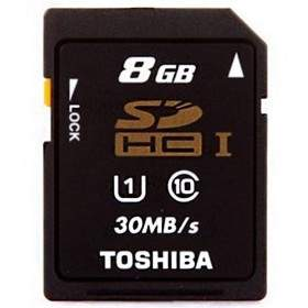 Toshiba SDHC 8GB Class 10 K008GR7AR30