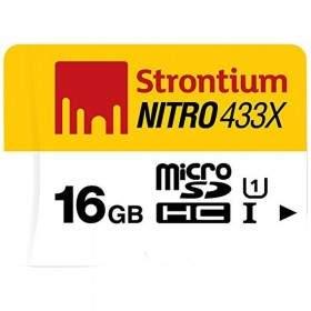 Strontium Nitro 433X microSDHC SRN16GTFU1 16GB Class 10