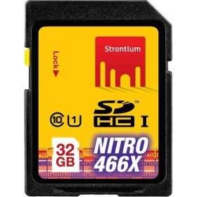 Kartu Memori Strontium Nitro 466X SDHC SRN32GSDU1 32GB Class 10