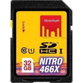 Strontium Nitro 466X SDHC SRN32GSDU1 32GB Class 10