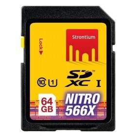 Strontium Nitro 566X SDXC SRN64GTFU1 64GB Class 10