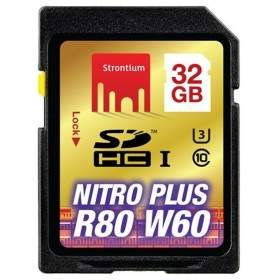 Memory Card / Kartu Memori Strontium Nitro Plus 4K SDHC SRP32GSDU1 32GB Class 10