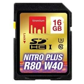 Memory Card / Kartu Memori Strontium Nitro Plus 4K SDHC SRP16GSDU1 16GB Class 10