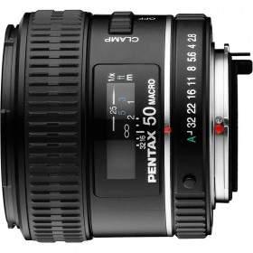Lensa Kamera Pentax D-FA 50mm f / 2.8 Macro