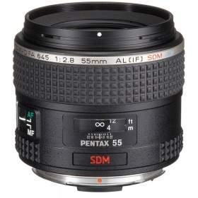 Lensa Kamera Pentax D-FA 645 55mm f / 2.8