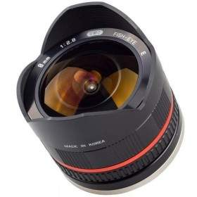 Lensa Kamera Samyang 8mm f / 2.8 UMC Wide-Angle for Sony NEX
