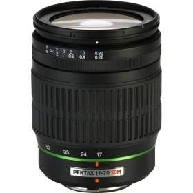 Lensa Kamera Pentax DA 17-70mm f / 4 AL SDM