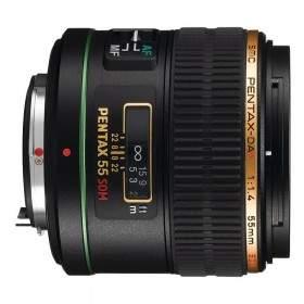 Lensa Kamera Pentax DA 55mm f / 1.4