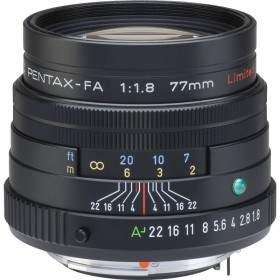 Lensa Kamera Pentax FA 77mm f / 1.8