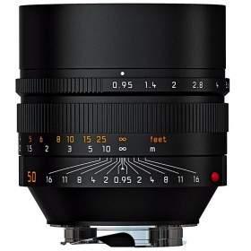 Lensa Kamera LEICA Noctilux M 50mm f / 0.95 ASPH