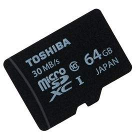 Toshiba microSDHC Class 10 30MB/s - 64GB
