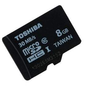 Memory Card / Kartu Memori Toshiba microSDHC UHS-I 8GB SD-C08GR7AR30 Class 10