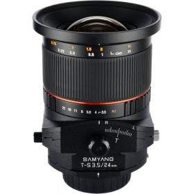 Lensa Kamera Samyang 24mm f / 3.5 ED AS UMC