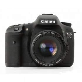DSLR Canon EOS 7D Kit EF 50mm