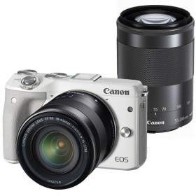 Canon EOS M3 Kit 18-55mm + 55-200mm