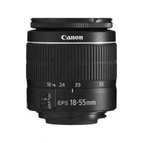 Lensa Kamera Canon EF-S 18-55mm f / 3.5-5.6 III