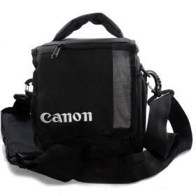 Tas Kamera Canon Selempang Black