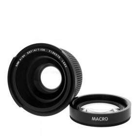 Lensa Kamera XCSOURCE 58MM 0.35x LF270 Fisheye Wide Angle Macro