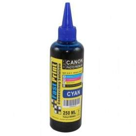 Fast Print Dye Based Photo Premium Canon Cyan 250ml
