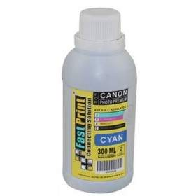 Tinta Printer Inkjet Fast Print Dye Based Photo Premium Canon Cyan 300ml