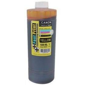 Fast Print Dye Based Photo Ultimate Canon Yellow 1000ml