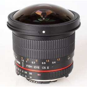 Samyang 8mm f/3.5 Aspherical IF MC Fisheye CS II