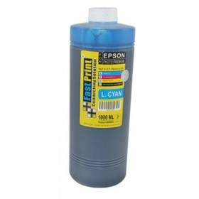 Fast Print Dye Based Photo Premium Epson Cyan 1000ml