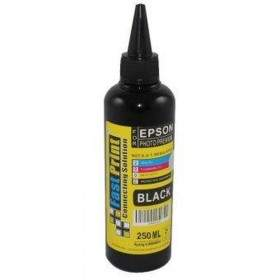 Tinta Printer Inkjet Fast Print Dye Based Photo Premium Epson Hitam 250ml