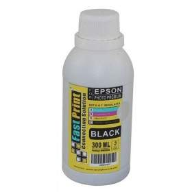 Tinta Printer Inkjet Fast Print Dye Based Photo Premium Epson Black 300ml