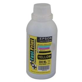 Tinta Printer Inkjet Fast Print Dye Based Photo Premium Epson Yellow 300ml