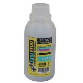 Fast Print Dye Based Photo Premium Epson Light Cyan 300ml