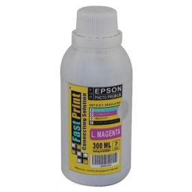 Tinta Printer Inkjet Fast Print Dye Based Photo Premium Epson Light Magenta 300ml