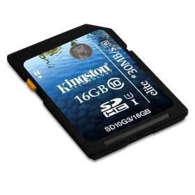 Memory Card / Kartu Memori Kingston SDHC Elite UHS-I Class 10 16GB