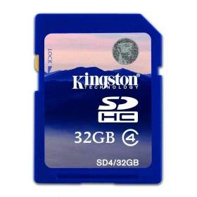 Kingston SDHC Class 4 32GB