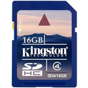 Kingston SDHC Class 4 16GB