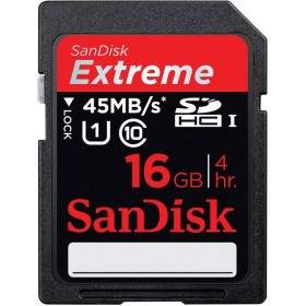 SanDisk Extreme SDHC Class 10 16GB