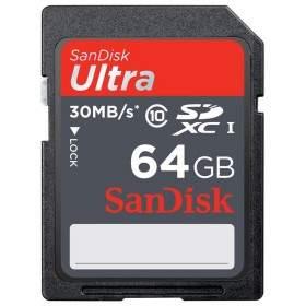 SanDisk Ultra SDHC Class 10 64GB
