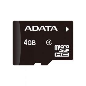 Memory Card / Kartu Memori ADATA microSDHC Class 4 4GB