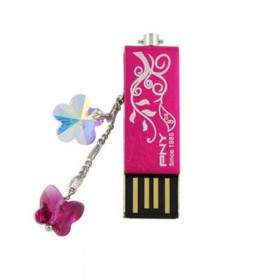 USB Flashdisk PNY Lovely Attache Flower Crystal 8GB
