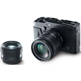 Mirrorless Fujifilm X-Pro1 kit XF 35mm + 18-55mm
