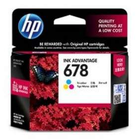 Tinta Printer Inkjet HP 678-CZ108AA Color