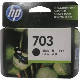 Tinta Printer Inkjet HP 703-CD887AA Black