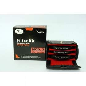 Filter Lensa Kamera OpticPro Kit Modul III 58mm