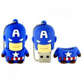 USB Flashdisk Fancy Captain America 8GB