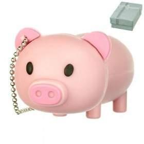 USB Flashdisk Fancy Cute Piggy 4GB