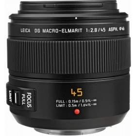 Lensa Kamera Panasonic Leica DG Macro-Elmarit 45mm f / 2.8 ASPH MEGA O.I.S
