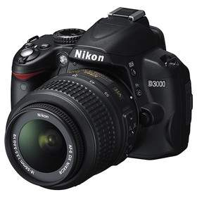 DSLR Nikon D3000 Kit 18-55mm