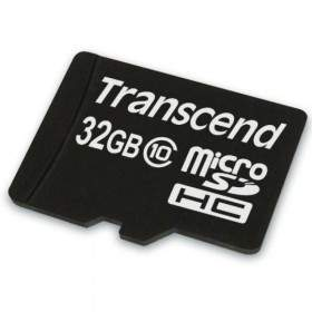 Memory Card / Kartu Memori Transcend microSDHC 32GB Class 4